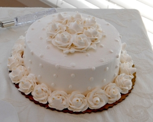 8 inch Wedding Cake - feeds 20
