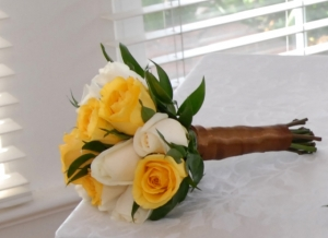 Adult Bridesmaid Rose Flowers